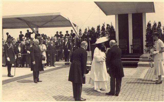 Opening Waalbrug 1936